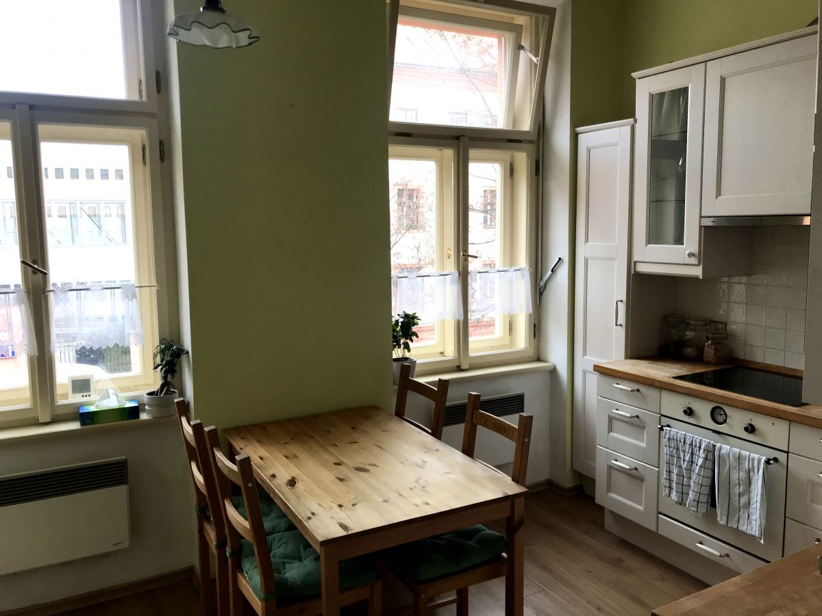 Krásný byt ve Vršovicích, Na Míčánkách Praha 10