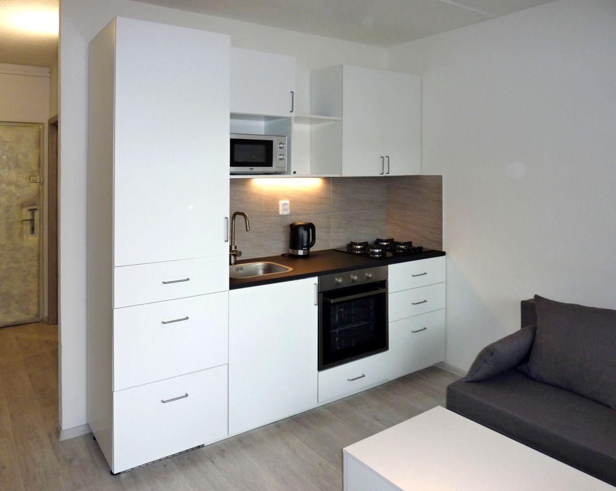 pronájem krásného bytu 1+1 s lodžií 40,5 m²