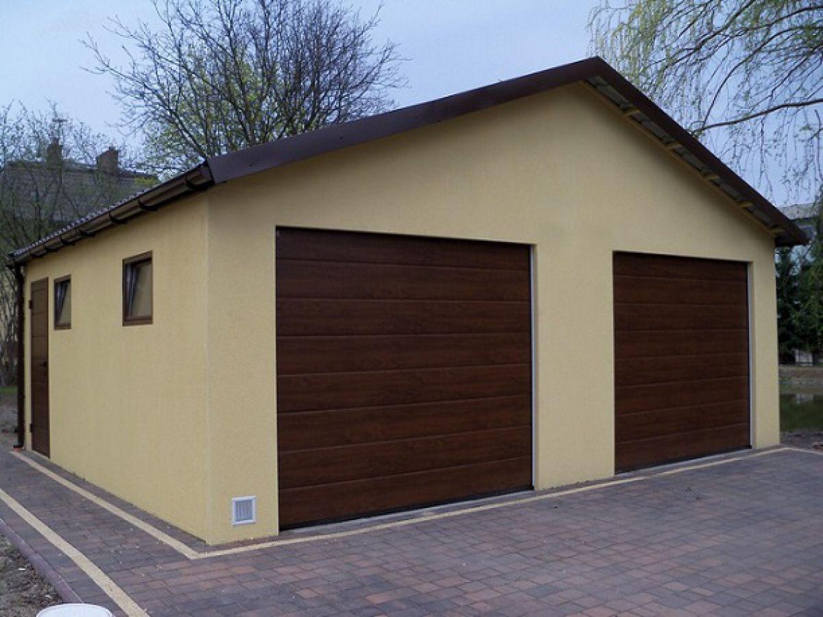 Omítnutá montovaná garáž - celá ČR