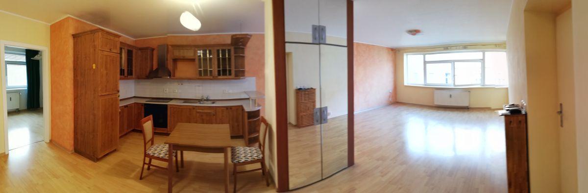 Pronájem bytu 3+kk bez realitky Drahobejlova, Praha - Libeň