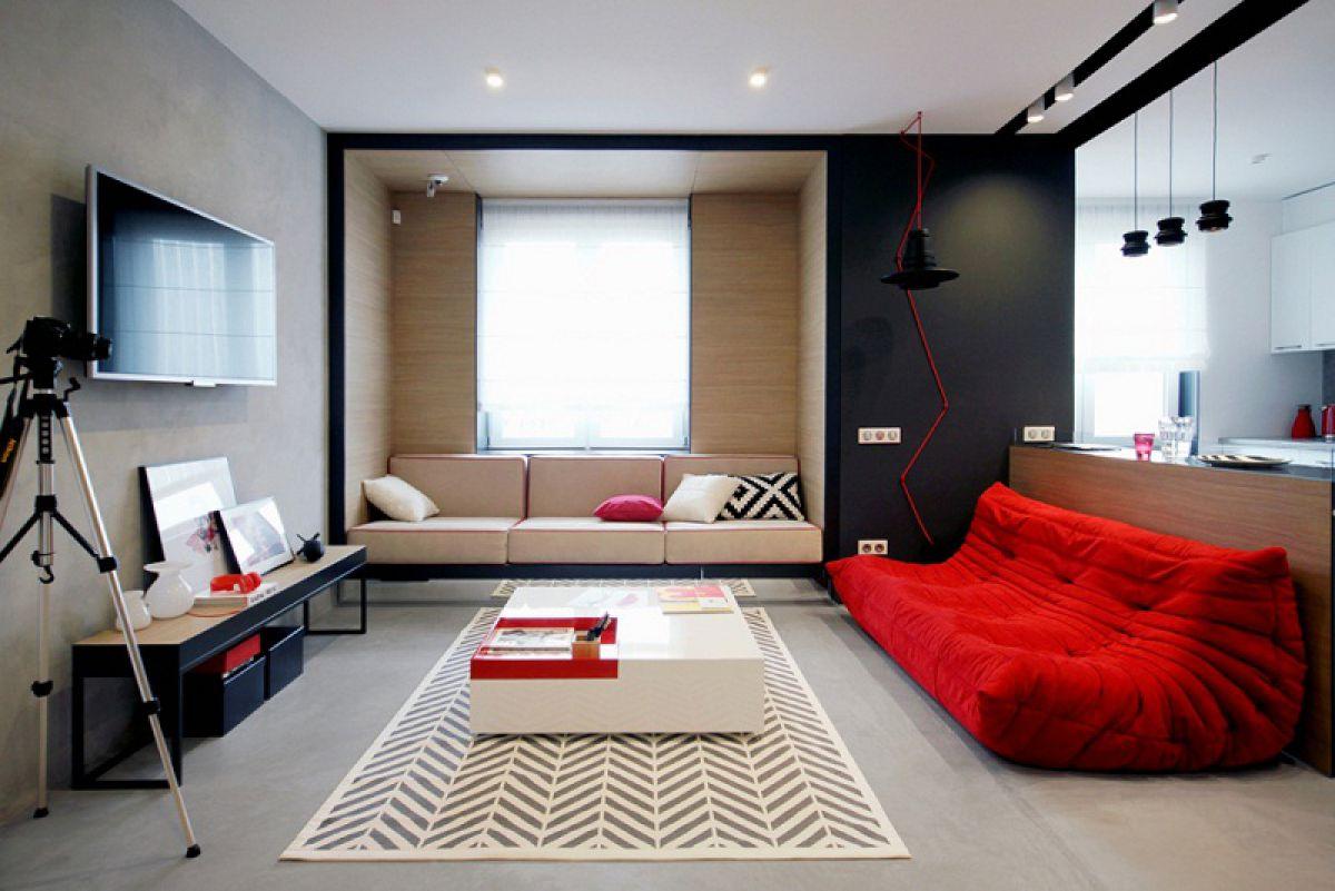 Luxusní byt 1 pokoj