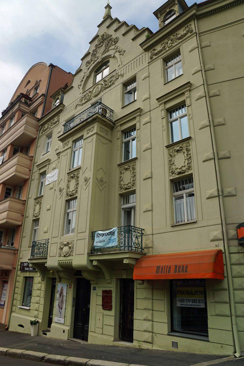 3+kk pěkný vybavený v lázeňském centru Karlových Varů
