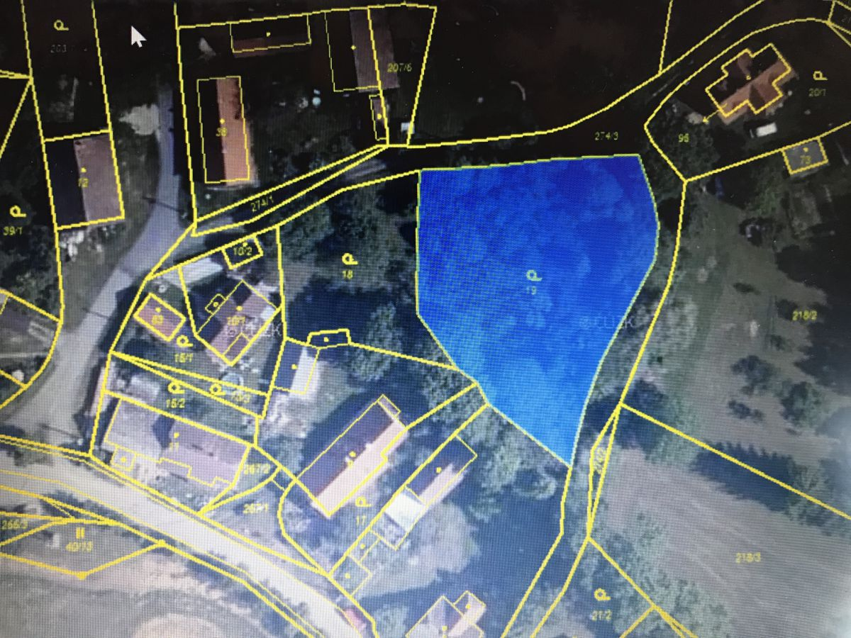 Pozemek pro stavbu RD ve Smederově, okres Plzeň - jih