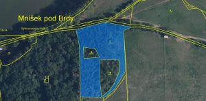Exkluzivně k prodeji různý souboru pozemků v obce Cisovice 10