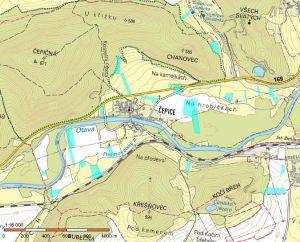 Pozemky Rabí Čepice 120000m2 1