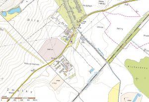 Polešovice okr. UH prodej pozemků orná půda 3.878 m2 5