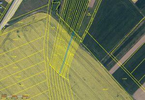 Polešovice okr. UH prodej pozemků orná půda 3.878 m2 3