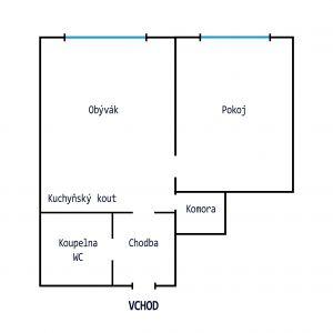 Pronájem bytu 2kk, Praha 4 4