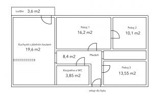 Prodej bytu 3+1 75 m² 3
