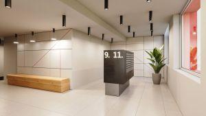 Prodej 2+kk, plocha 35,1 m2,  2.NP,   Praha 2 Vinohrady 6