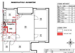 Pronájem byt 4+1, Zlín, JS, ulice Budovatelská  4816 2