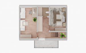 Prodej, Chata, 381 m2 - k celoročnímu bydlení 13