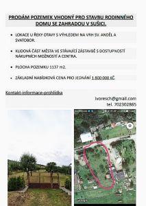 Prodej stavebního pozemku 1