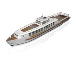 Rekreační loď - plovoucí apartmán 1