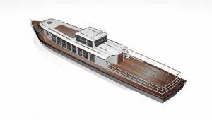 Rekreační loď - plovoucí apartmán 4