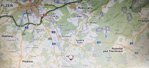 Pozemek pro stavbu RD ve Smederově, okres Plzeň - jih 3