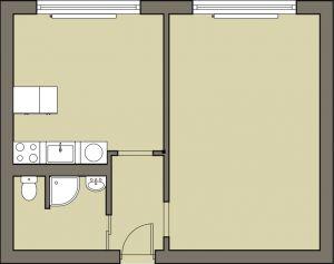 Nově zrekonstruovaný byt 2+kk, Karviná-Hranice 8