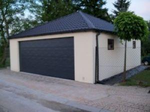 Montované garáže s omítkou 3