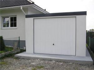 Montované garáže s omítkou 1