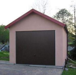 Montované garáže s omítkou 4