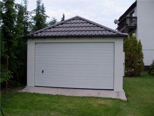 Montované garáže s omítkou 2