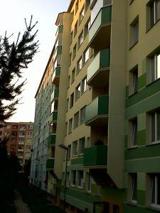 Pronájem bytu 2+1, Zelená ul. Olomouc-Neředín 14