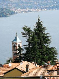 byt s výhledem na jezero Maggiore Itálie Stresa 1