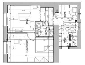Pronájem zařízeného bytu 2+1, 50 m2, U Svobodárny, Praha 9 5