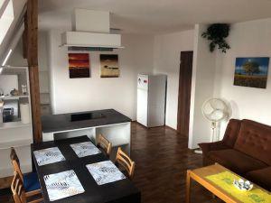 pronájem nově vybudovaného podkrovního bytu 2